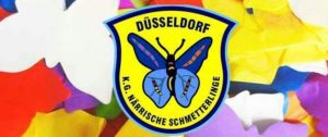 Närrische Schmetterlinge 11.11.2016