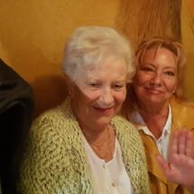 Brigitte und Gerda im Ludwigs Bier und Brot